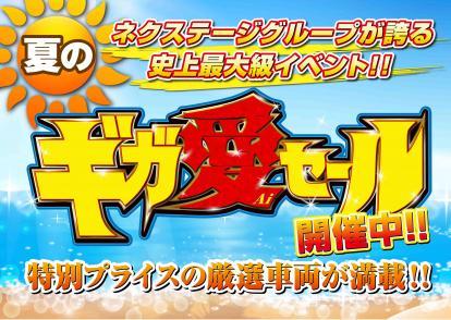 夏の☆ギガ愛セール☆開催中!!