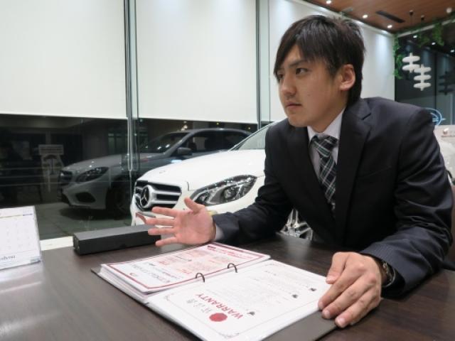 ネクステージのスタッフ写真 カーライフアドバイザー 森 彰宏