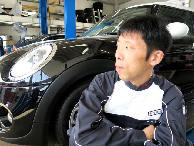 ネクステージのスタッフ写真 メカニック 中川 秀行