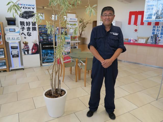ネクステージのスタッフ写真 サービスフロント 山本 芳久