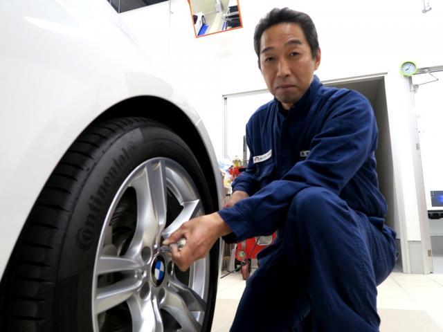 ネクステージのスタッフ写真 メカニック 米田 信浩