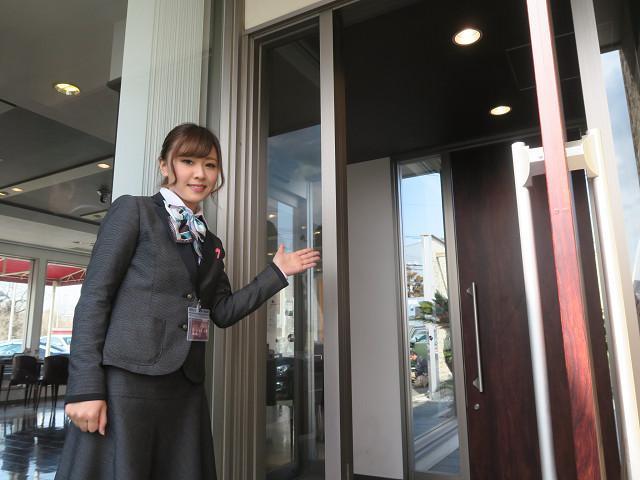 ネクステージのスタッフ写真 事務 岩佐 栞里