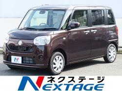 ムーヴキャンバス L SAⅡ 届出済未使用車 スマアシII エコアイドルの中古車